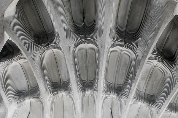 Foto: Die hierarchische Rippenstruktur von Smart Slab